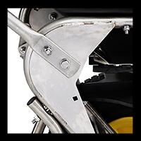 welded frame spreader