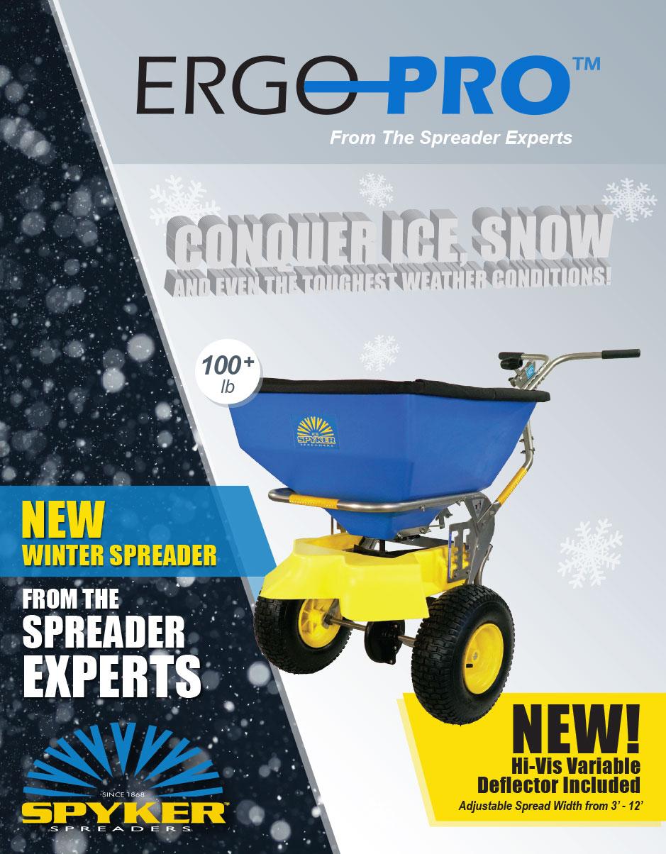 spyker winter spreader 50 lb